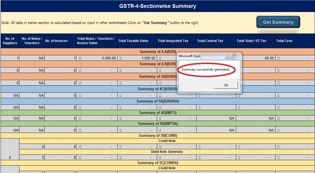 File GSTR-4 on GST Portal